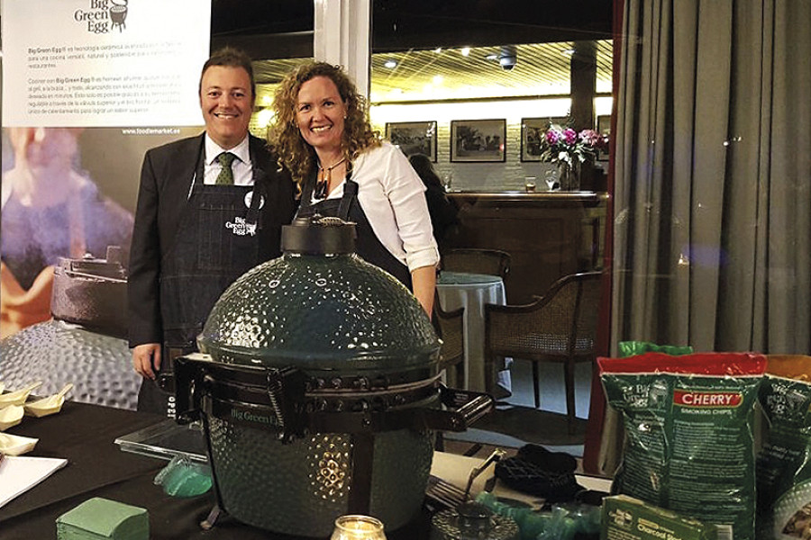 Cata Big Green Egg en el Club de Polo de BCN