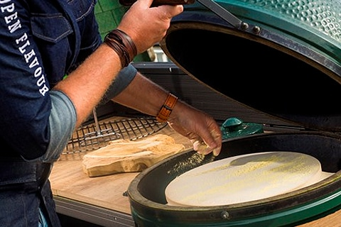 Pizza Big Green Egg