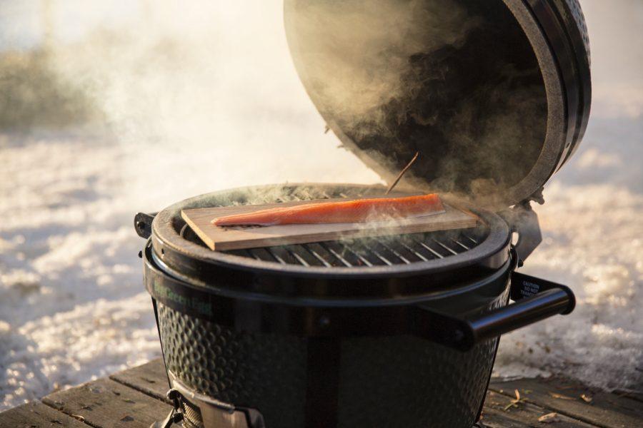 Nuestra chef cocina a baja temperatura