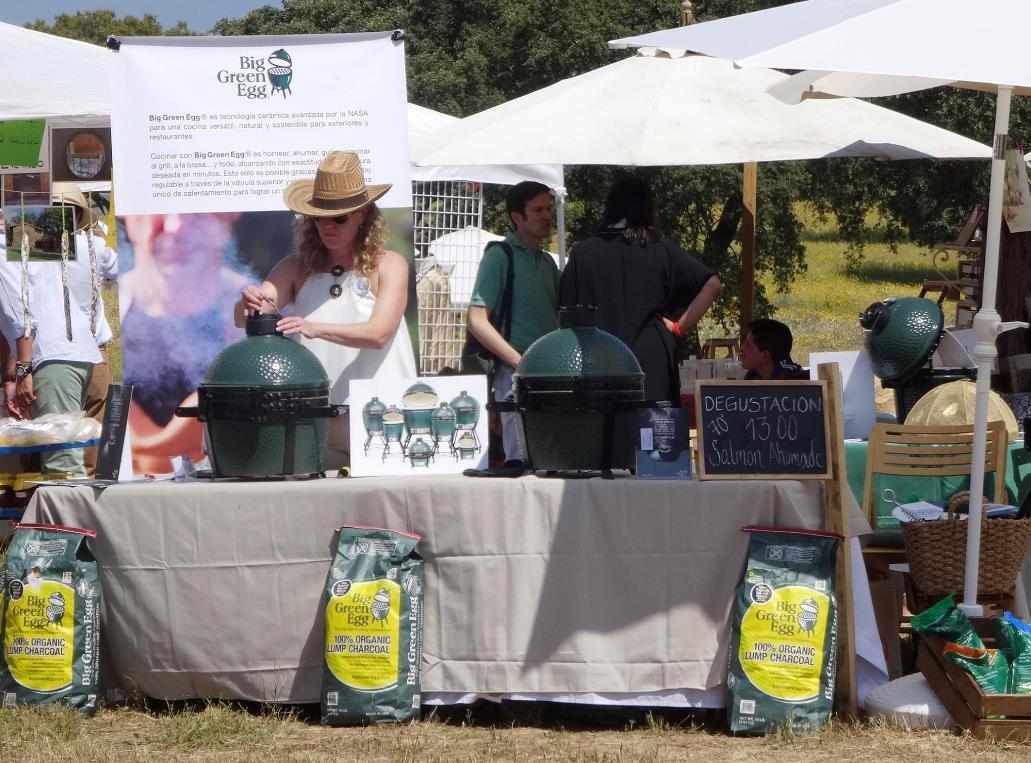 Big Green Egg se estrena en Jardines de Campo OPEN DAY!