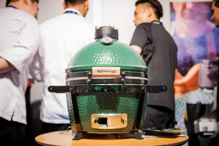 Un Big Green Egg en Gastronomika!