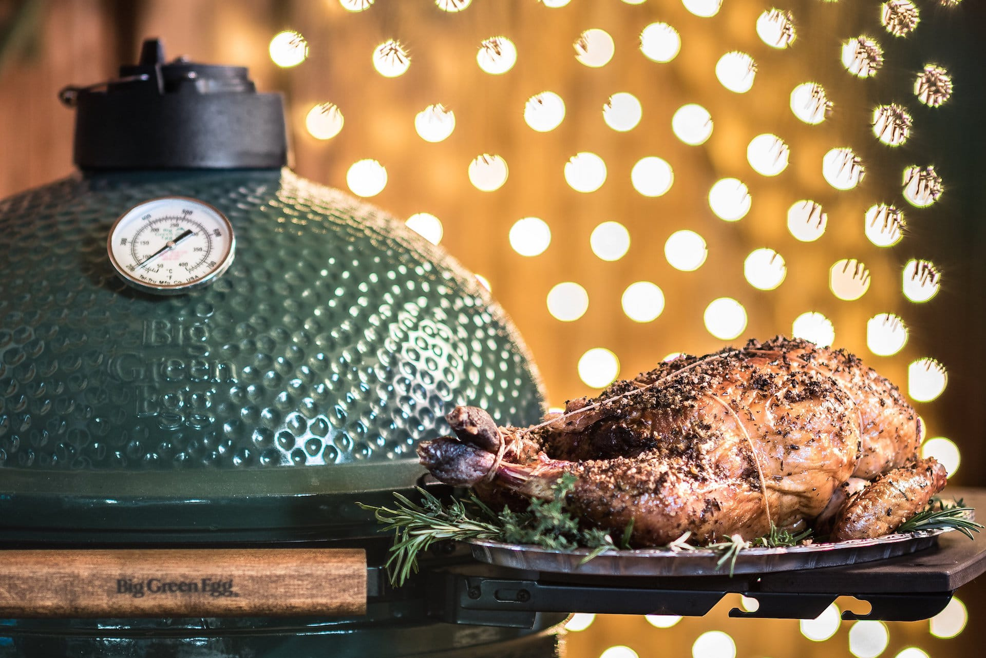 Menú navideño Big Green Egg