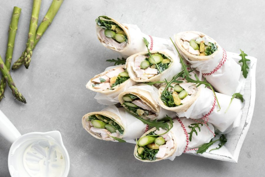 Irresistibles Wraps al Big Green Egg
