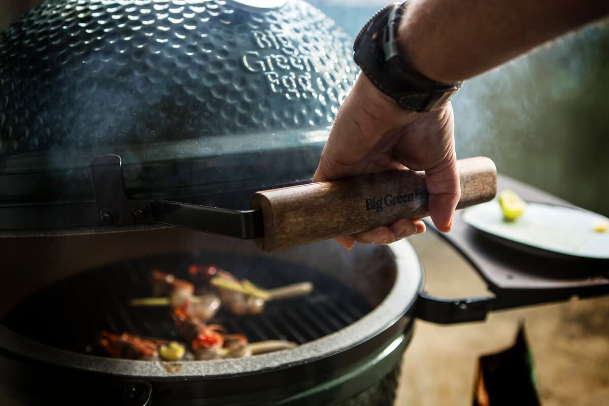 Innovando la barbacoa con tu Big Green Egg