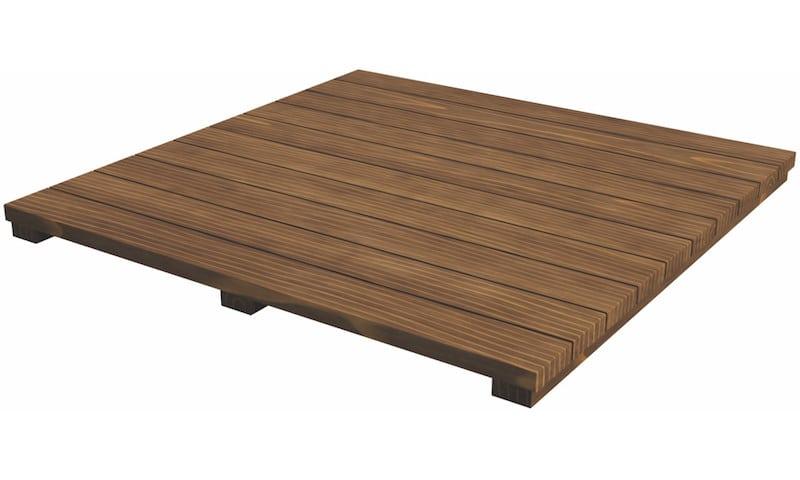 Capa de madera de acacia