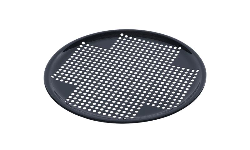 Rejilla perforada de porcelana redonda