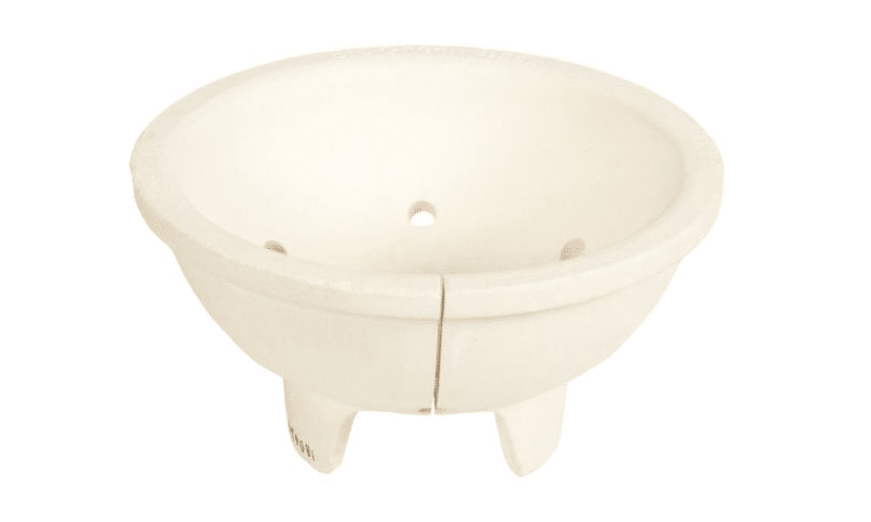 Carbonera de cerámica